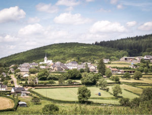 paysages du Morvan : Village de Corancy ( Nièvre)