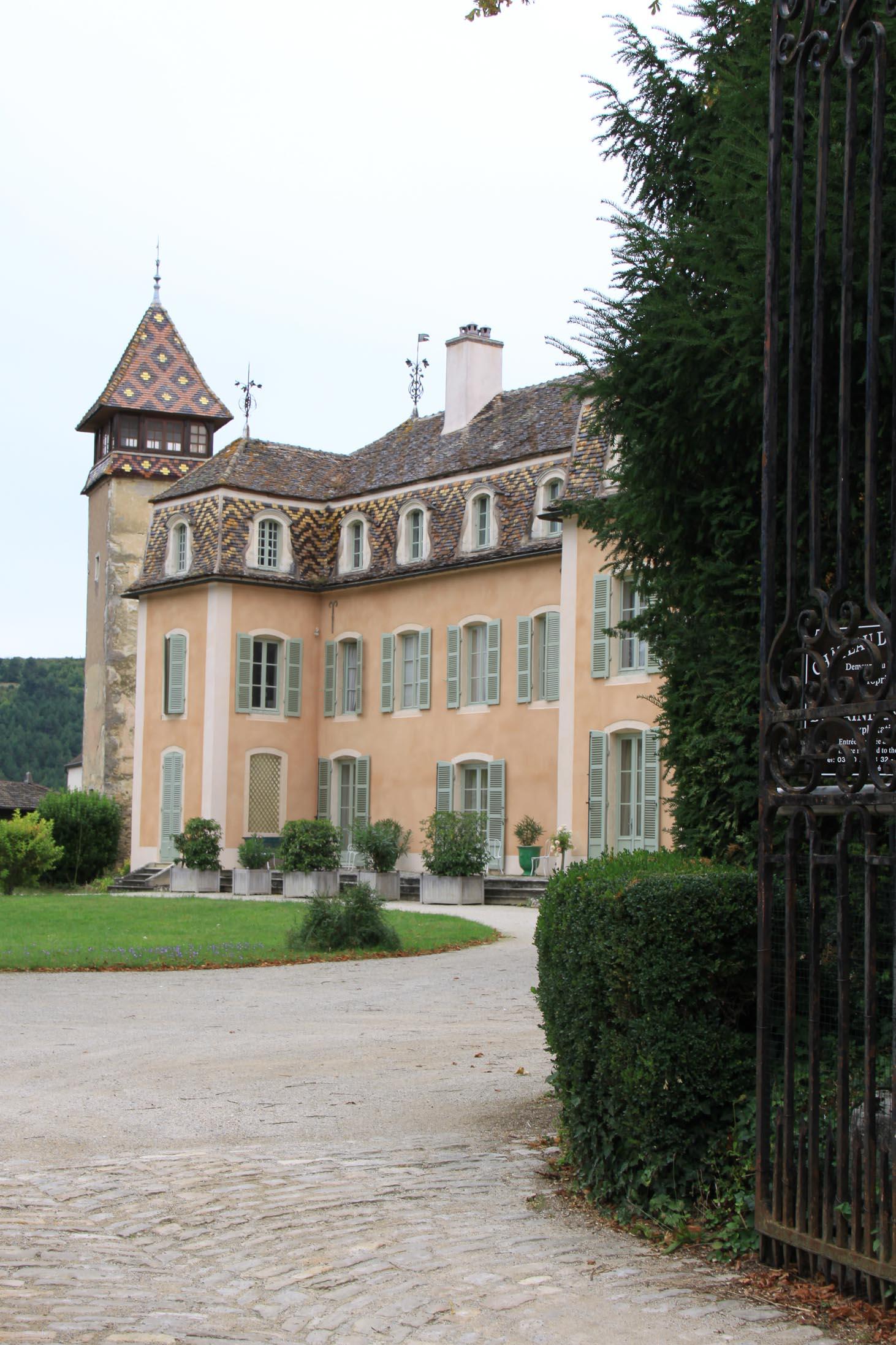 Châteaux et belles demeures de Bourgogne : Château de Monthélie (2)