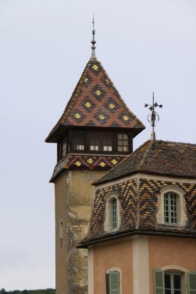Châteaux et belles demeures de Bourgogne : Château de Monthélie