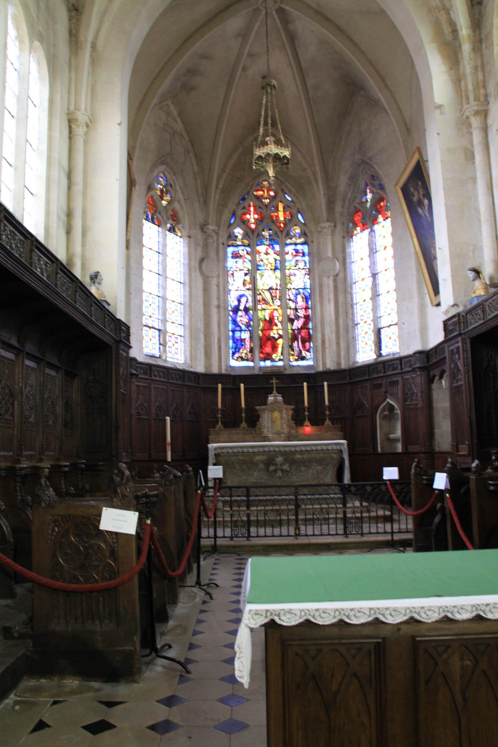 Eglises et abbayes Bourguignonnes : Eglise de Flavigny-sur-Ozerain (2)