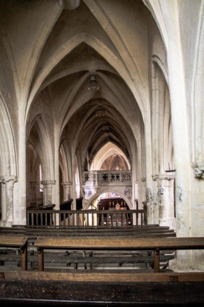 Eglises et abbayes Bourguignonnes : Eglise de Flavigny-sur-Ozerain