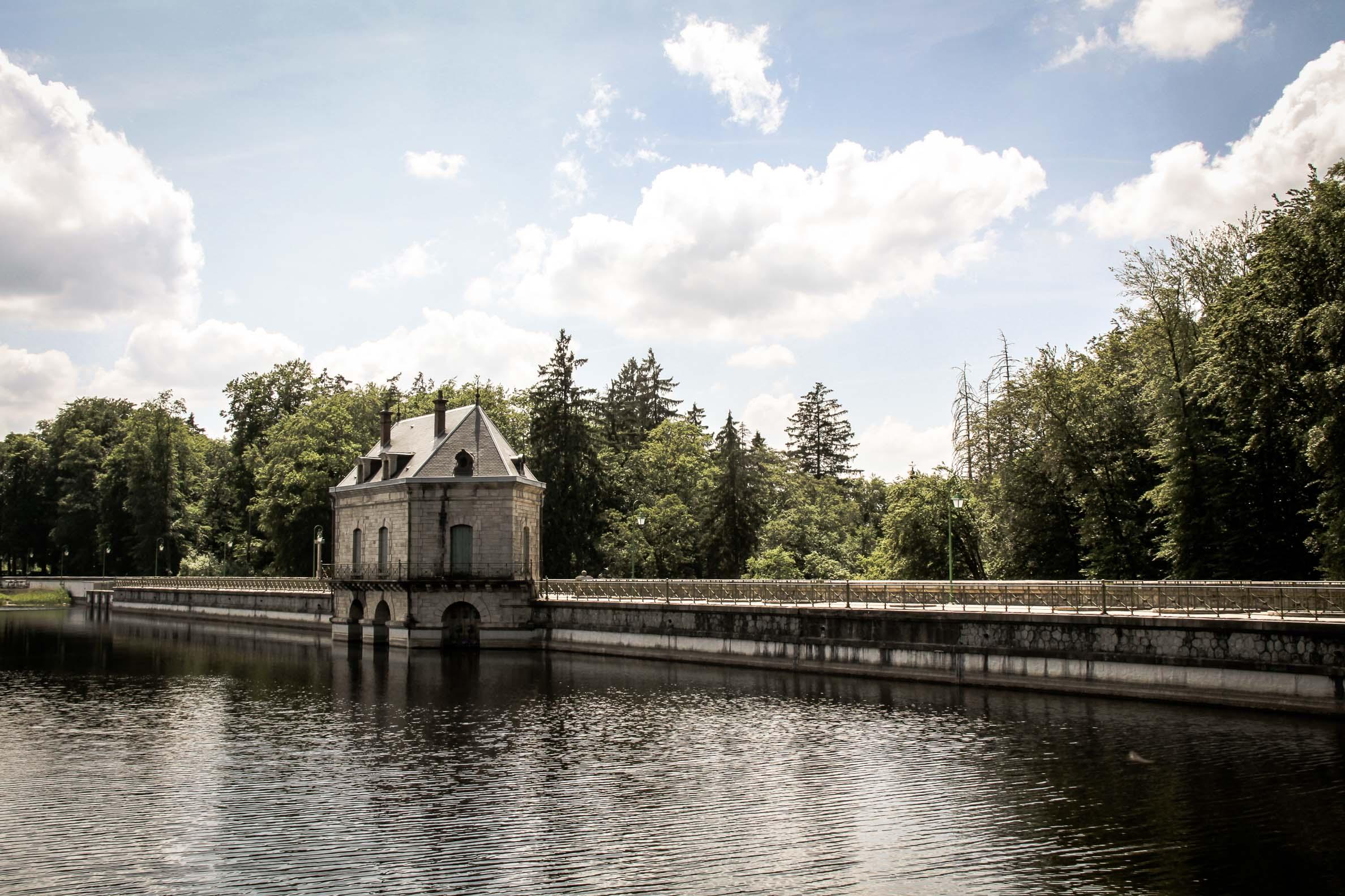 Lac des Settons le barrage