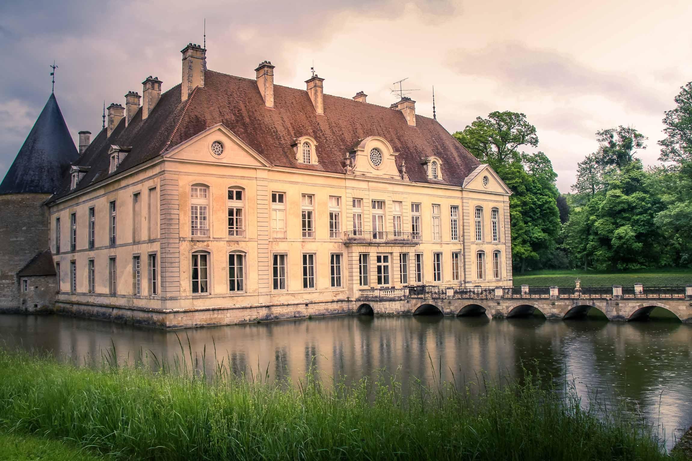 Châteaux et belles demeures de Bourgogne : Château de Commarin (2)
