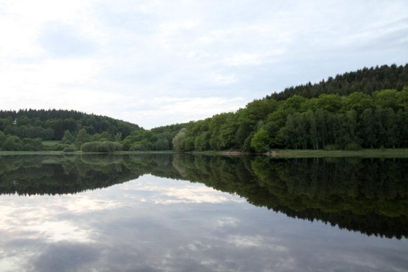 Lac de Chamboux, reflets