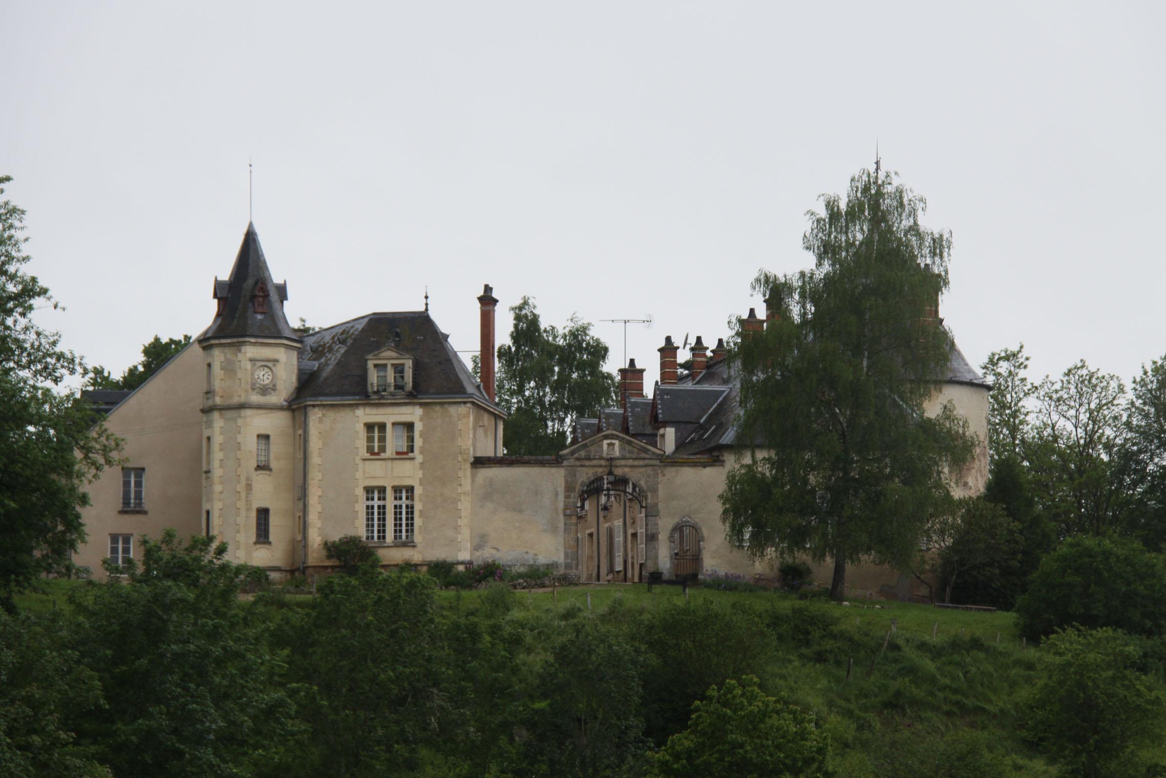 Châteaux et belles demeures de Bourgogne : chateau