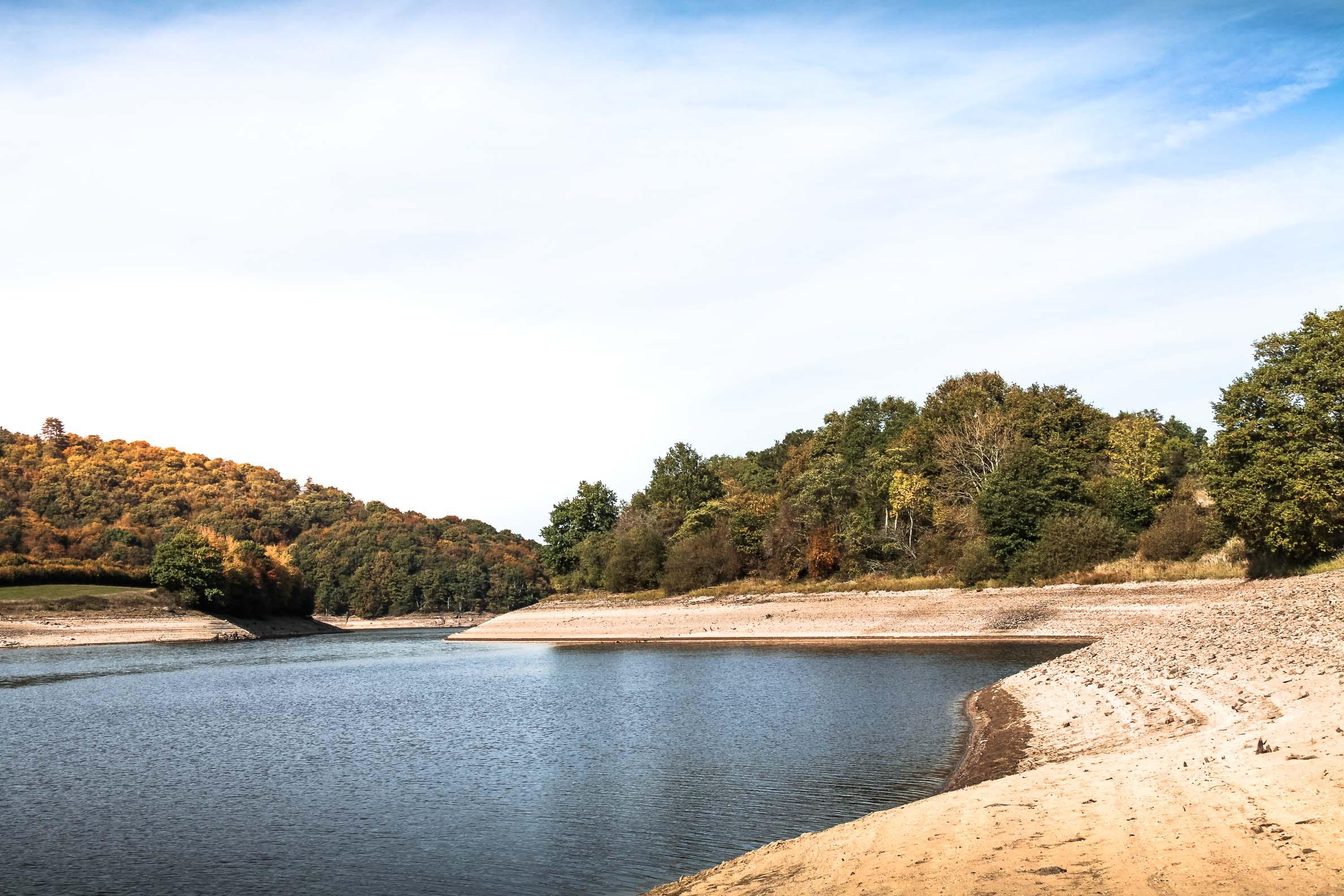 Lac du Crescent en fin d'automne