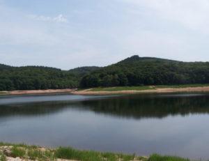 Grands lacs du Morvan : lac de Chaumeçon