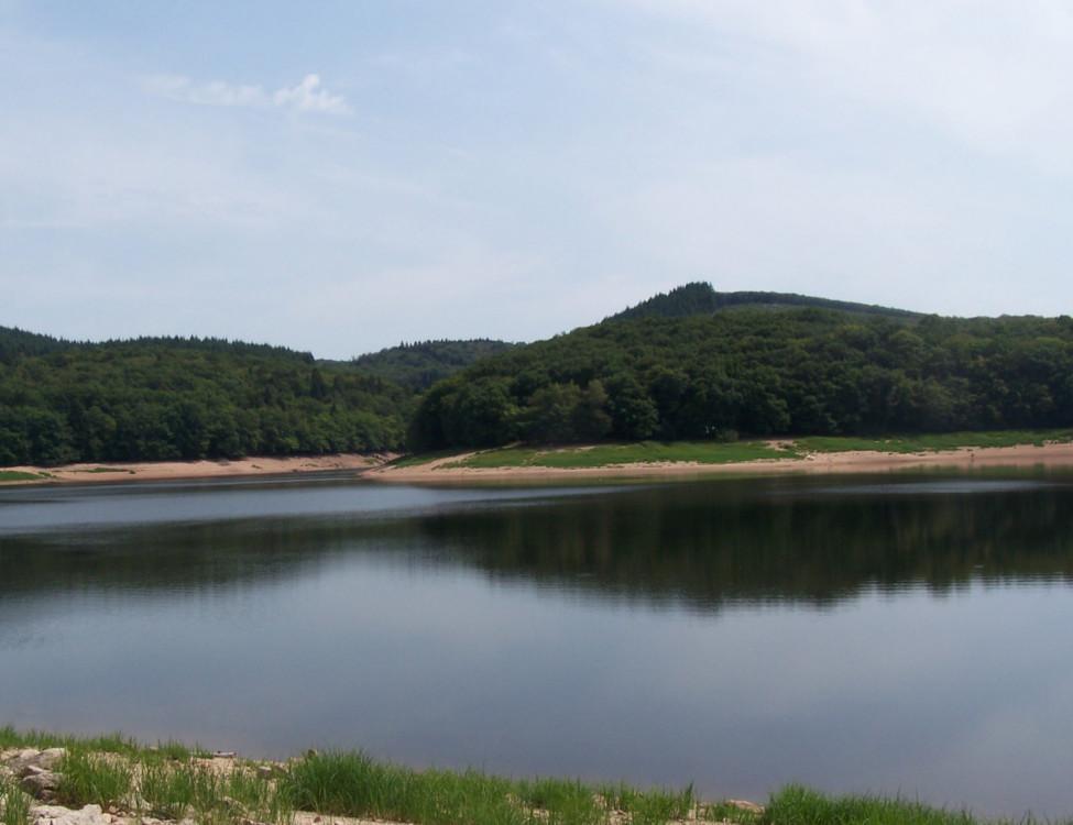 Lac de Chaumeçon à l'automne 2017