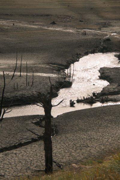 Lac de Pannecière en période hivernale (10
