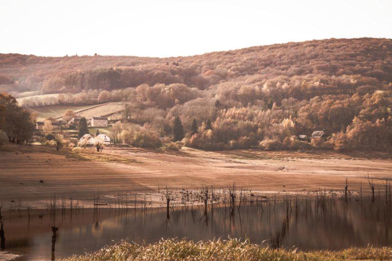 Lac de Pannecière en période hivernale (4)