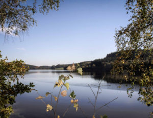 Grands lacs du Morvan : lac de Saint-Agnan