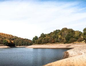 Grands lacs du Morvan : lac du Crescent