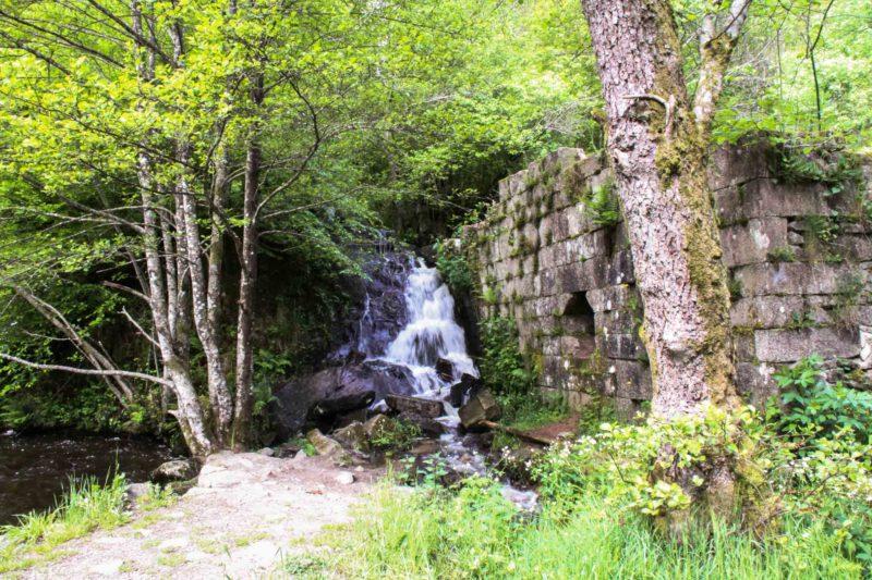 Eaux vives Morvandelles : Le Saut de Gouloux cascade laterale (4)