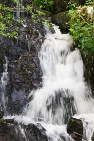 Eaux vives Morvandelles : Le Saut de Gouloux cascade laterale (3)