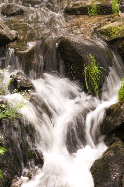 Eaux vives Morvandelles : Saut de Gouloux cascade latérale (2)