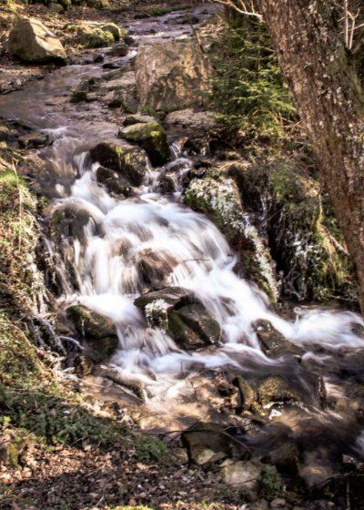 Eaux vives Morvandelles : Petite cascade au Saut de Gouloux