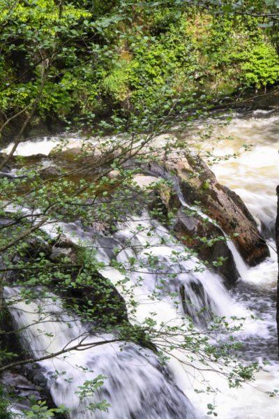 Eaux vives Morvandelles : Cascade sur la Cure vers Gouloux