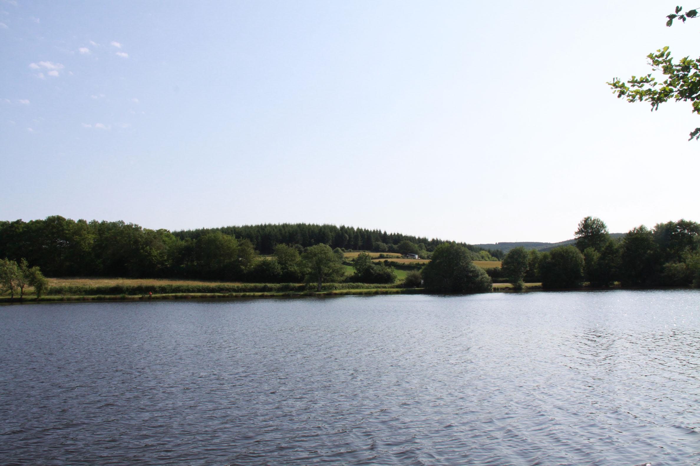 autres plans d'eau remarquables : Lormes Etang du Goulot