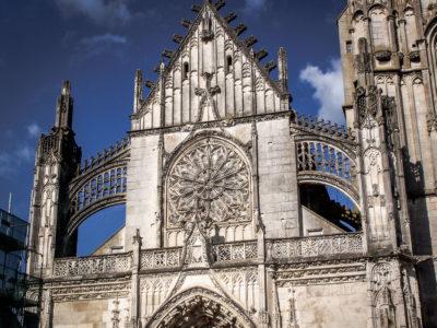 Eglises et abbayes Bourguignonnes : Collégiale Saint-Martin de Clamecy