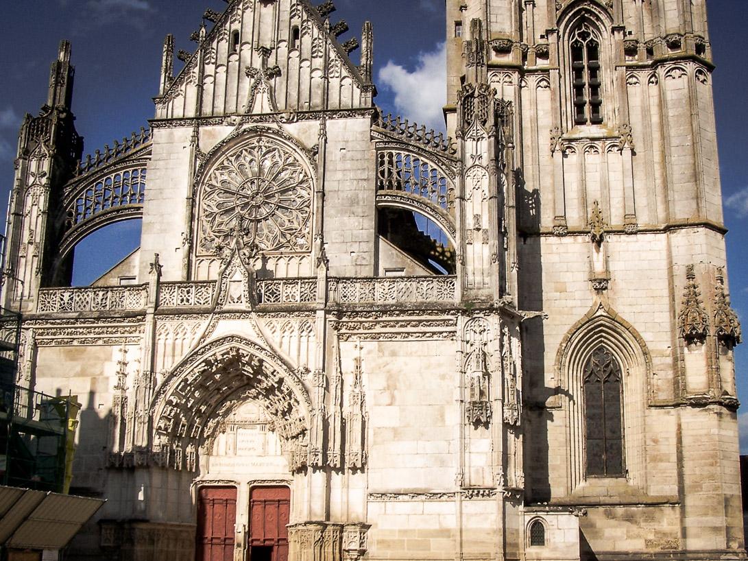 Eglises et abbayes Bourguignonnes : Collégiale Saint-Martin de Clamecy (2)