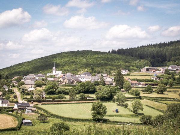 Paysages du Morvan : Village de Corancy