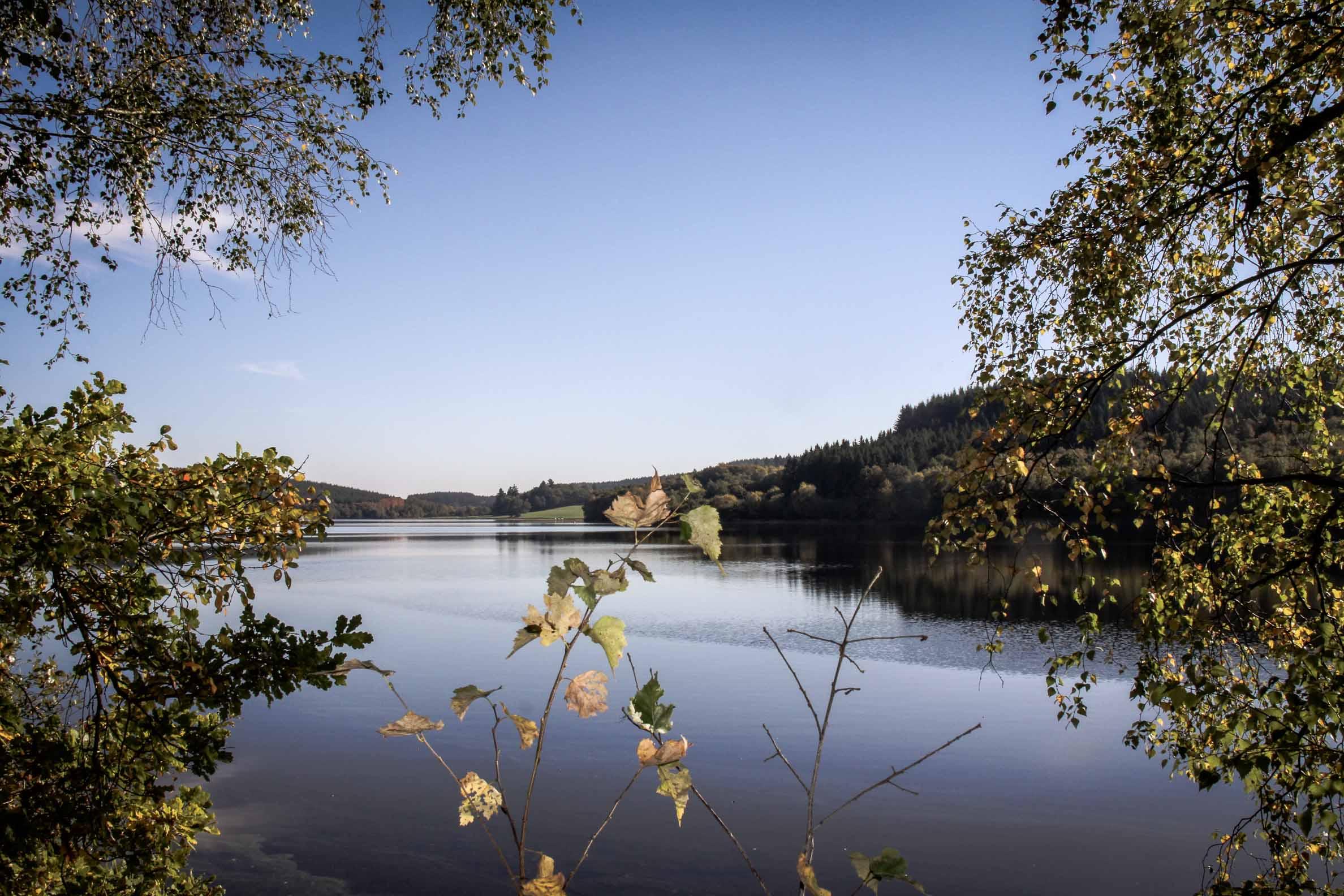 Lac de Saint-Agnan octobre 2017
