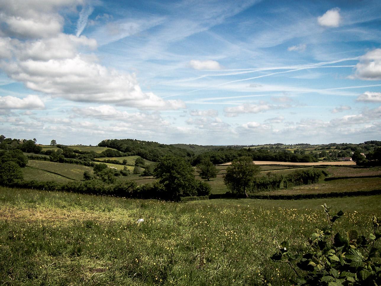 Paysages du Morvan : Du côté de Quarré-LesTombes