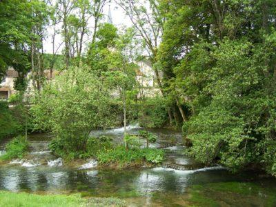 paysages remarquables de bourgogne : Vue sur l'Ignon à Moloy (21)