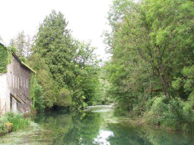 paysages remarquables de bourgogne : L'Ignon à Moloy (21)